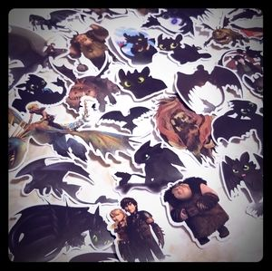 11 How to Train a Dragon Stickers